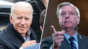"""Senador Graham: """"me agrada mucho"""" Biden para 2020"""