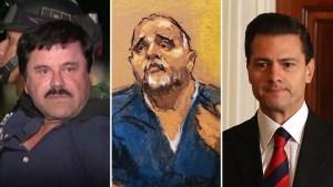 """Testigo dice """"El Chapo"""" pagó $100 millones a Peña Nieto"""