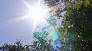 Summer temperatures close out the month of April
