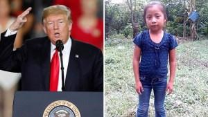 Trump culpa a demócratas por muertes de niños
