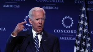 Biden habla sobre la posibilidad de su candidatura