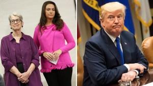 Trump niega denuncias de acoso sexual en su contra