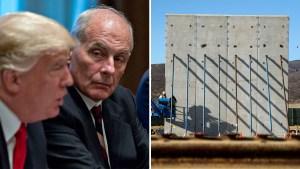 John Kelly: barda fronteriza no sería un muro de concreto