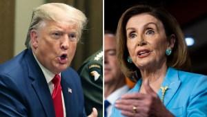 Se desata batalla campal entre Trump y la Cámara Baja