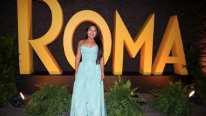 Critican a actriz por disfrazarse de Yalitza Aparicio