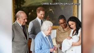 Revelan el nombre del bebé de Meghan y el Príncipe