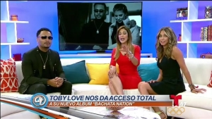 Toby Love nos aclara porque no estuvo en el reencuentro de Aventura