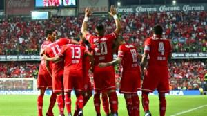 Pumas y Toluca vencen a Veracruz y Puebla