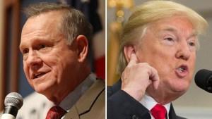 Trump trata de distanciarse del revés en Alabama