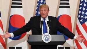 Trump brinda balance sobre gira por Asia