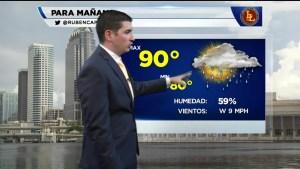 Pronóstico del tiempo para el día 22 de Junio en el Área de la Bahía de Tampa