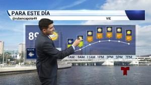 Pronóstico del tiempo para el 20 de septiembre en el Área de la Bahía de Tampa