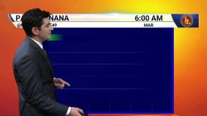 Pronóstico del tiempo para 18 de Septiembre en el Área de la Bahía de Tampa