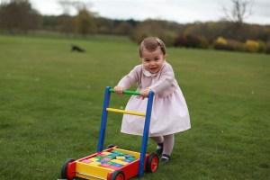 La princesita Carlota celebra su primer cumpleaños