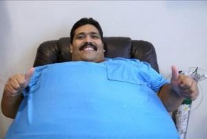 El hombre más obeso del mundo, fuera de peligro