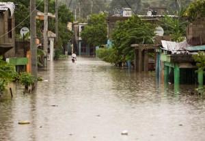 Beryl deja inundada República Dominicana