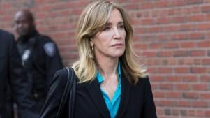 Felicity Huffman es liberada tras 11 días en prisión