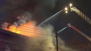Fiscal: Se escucharon varias explosiones en fuego de Fitchburg