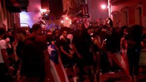 "PR: Manifestantes prometen ""paro nacional"""