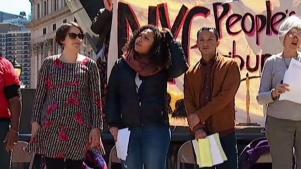 Protestan contra mal trato de ICE