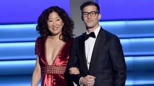 Sandra Oh y Andy Samberg presentarán los Globos de Oro