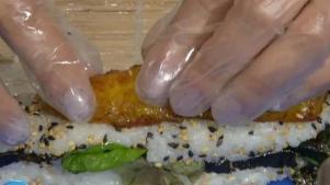 Se te hará agua la boca con éste sushi caribeño