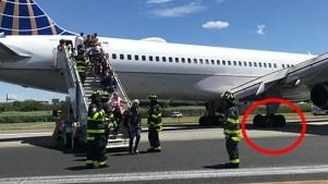 Estallan llantas de avión de pasajeros durante aterrizaje