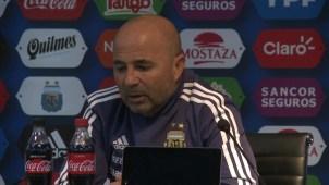 """Sampaoli no lo oculta: """"El equipo es de Messi"""""""