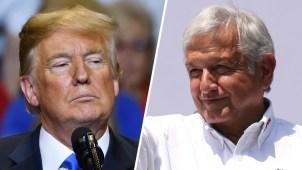 Trump repite amenazas; AMLO ofrece amistad