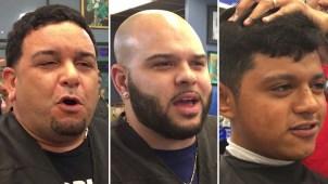 La barbería futbolera donde Brasil es el favorito
