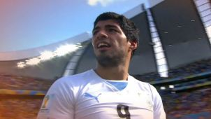 Luis Suárez, el polémico delantero uruguayo