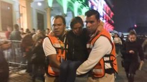 Accidente con pirotecnia hiere a 20 asistentes a festejos