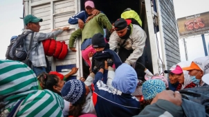 Detienen a 101 migrantes centroamericanos