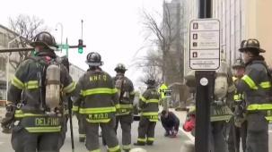 Evacúan edificios por gases tóxicos en New Haven