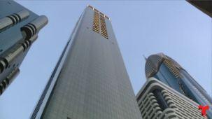 Lujo que da vértigo, abre el hotel más alto del mundo