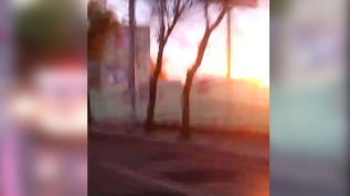 Video: captan la explosión de un hospital de México