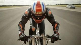 [TLMD - LV] El hombre más rápido en bicicleta: 174 millas por hora