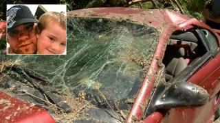 Niño héroe: con 5 años y una pierna rota salva la vida de su padre