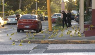 Hallan cerca de 1,000 casquillos en escena de masacre