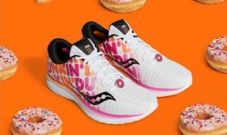 Los zapatos de Dunkin' ¿para quemar las calorías?