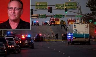Hombre salva a familia durante tiroteo en Riverside