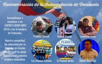 Alcalde se une a celebración de independencia de Venezuela