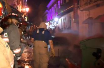 Adveretencia: peligro de gran explosión en Viejo San Juan