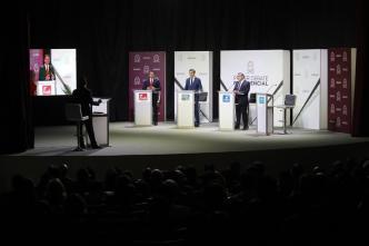 Así fue el primer debate presidencial en El Salvador