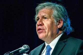 """Almagro condena el breve """"secuestro"""" del presidente del Parlamento por Maduro"""