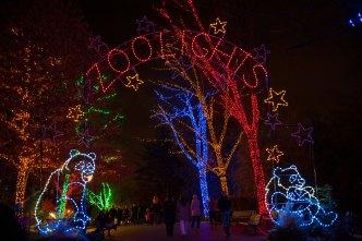 ZooLights: encienden la navidad en el Zoológico Nacional