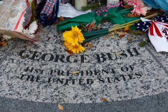 Funeral de estado de Bush: cierre de calles