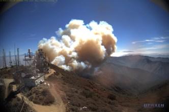 Recrudece Incendio Holy durante labores de extinción