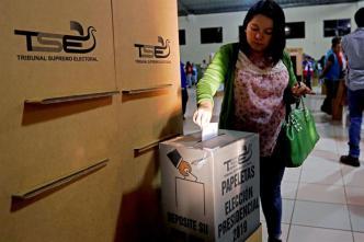 Cierra votación presidencial en El Salvador