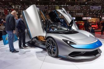Autos eléctricos: presentan el más veloz del mundo